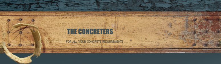 THE CONCRETERS - FOR ALL YOUR CONCRETE REQUIREMENTS